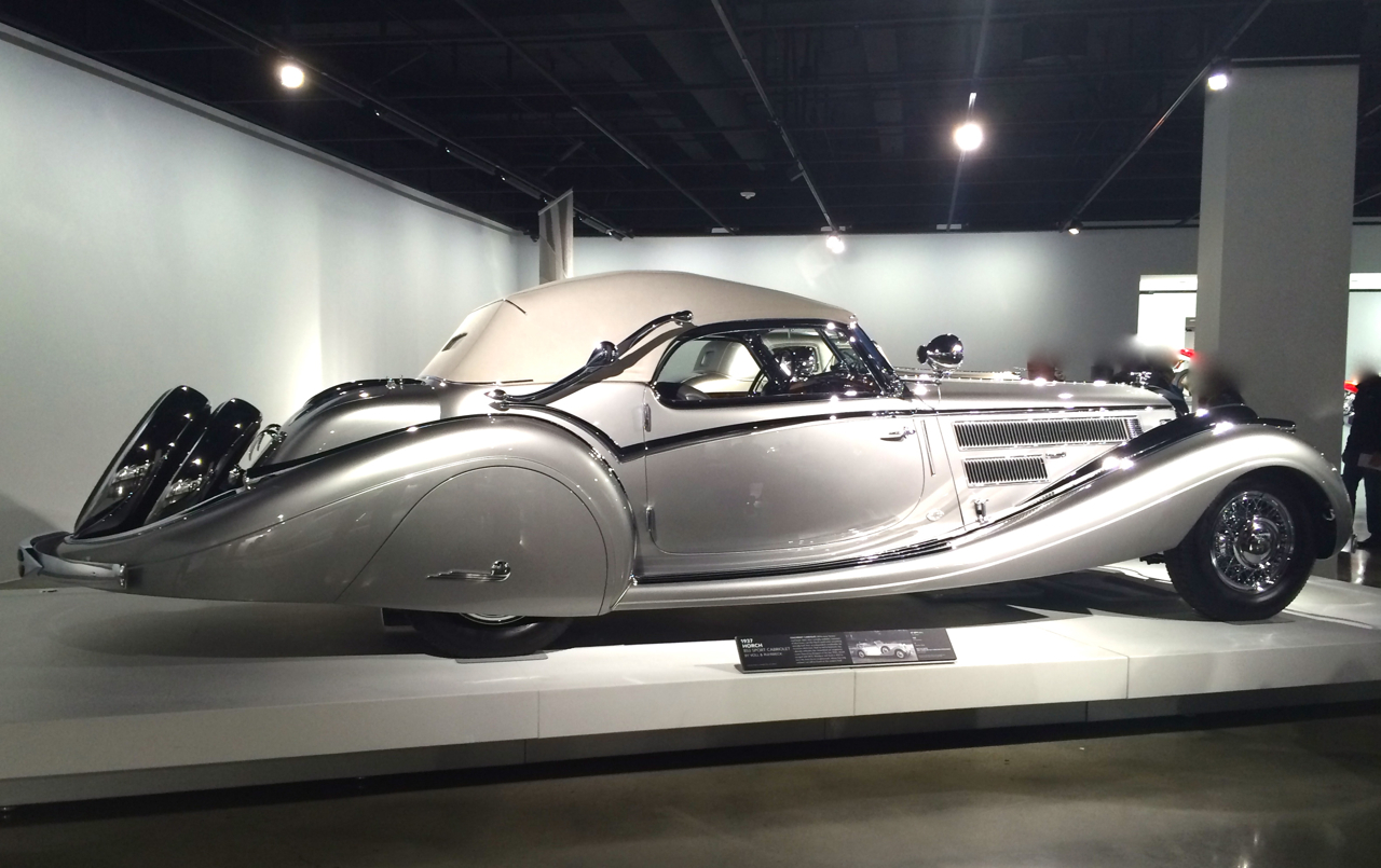 Peterson Car Museum >> Precious Metal at the Peterson Automotive Museum - Where Art Inspires Beauty