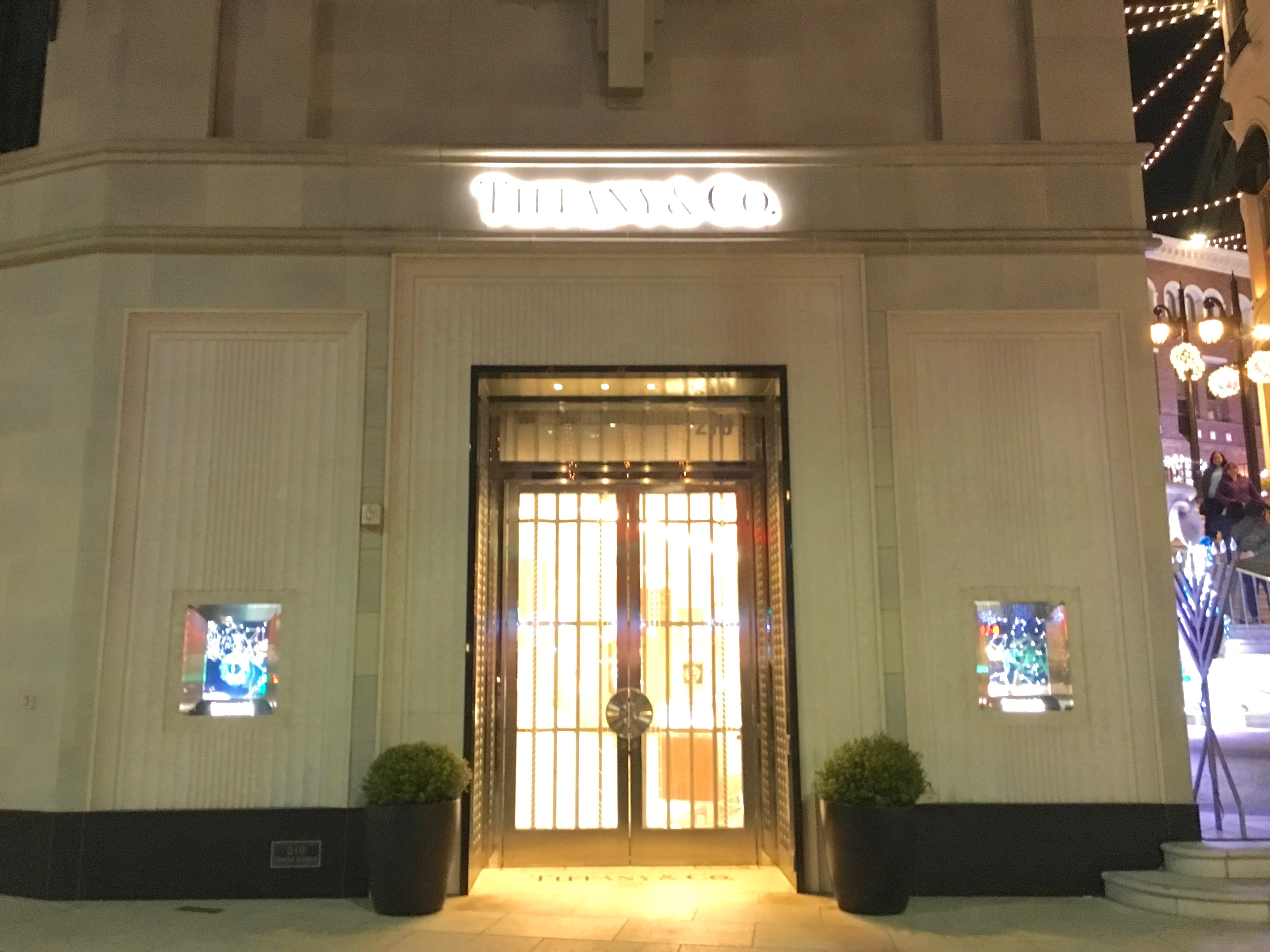 The Magic Of Tiffany Amp Co On Rodeo Drive